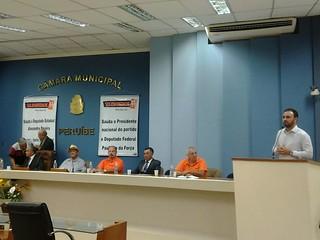 Encontro Municipal do Solidariedade de Peruíbe