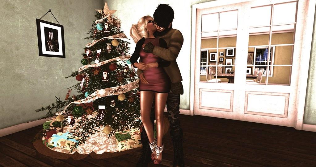 Pre Christmas Kiss