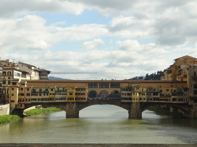 Ponte Vecchio from the west, Florence
