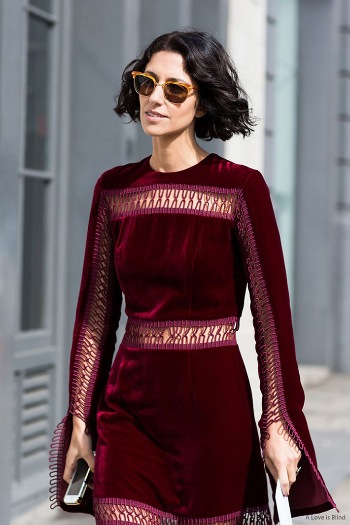 how to wear velvet streetstyle inspiration outfits14