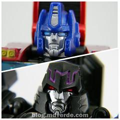 Transformers Orion Pax vs Megatronus Deluxe - Generations - modo robot