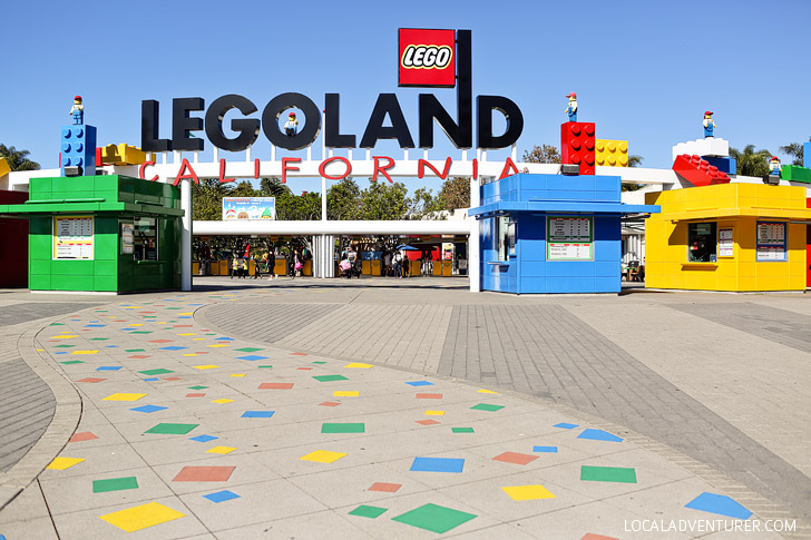 If you love travel, you will love this around the mini lego world tour at Legoland California Resort.