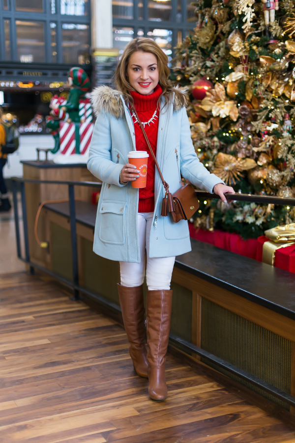J Crew Chateau Parka Holiday