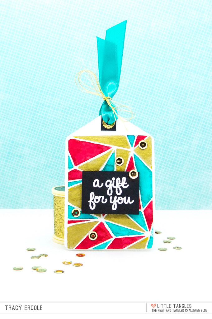 Gift Tag - Little Tangles Challenge