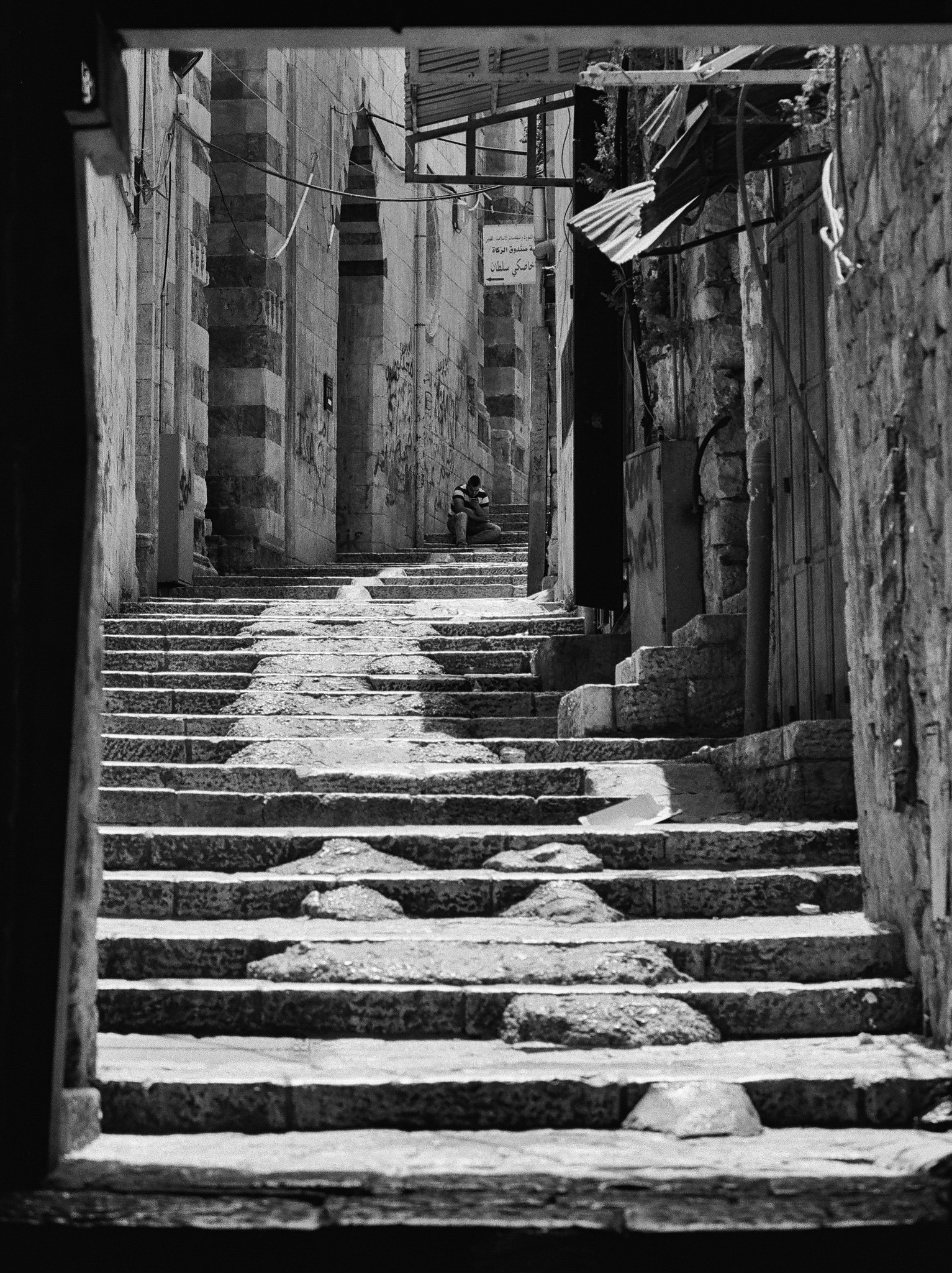 Old City Stairway