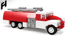 How to Build the Fire Truck Tatra 148 (LDD model)