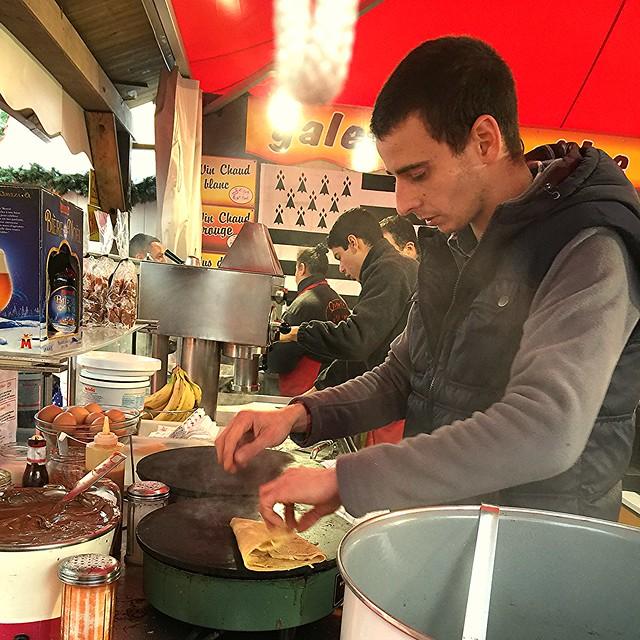 La Defense Christmas Market, Paris