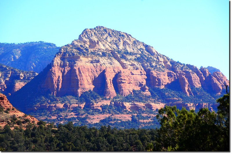 The Red Rocks are taken from Dry Creek Road 1