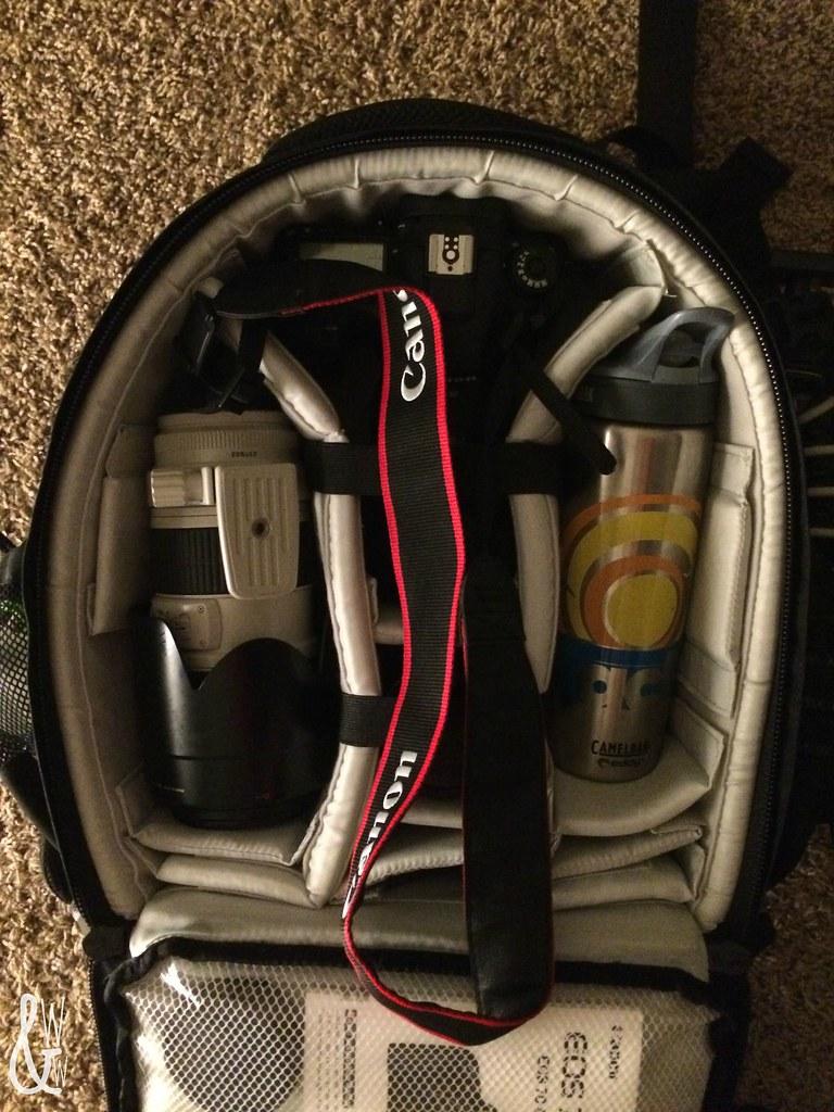 winter camping canon camera gear