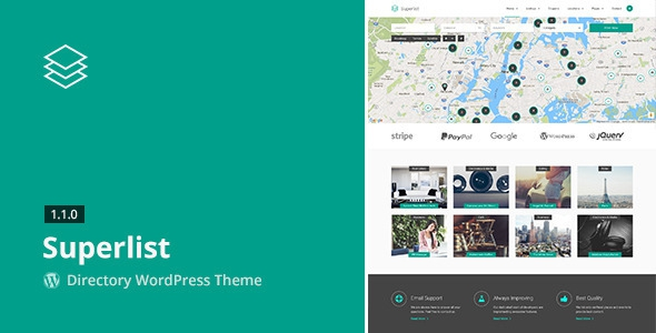 Superlist v1.8.0 - Directory WordPress Theme