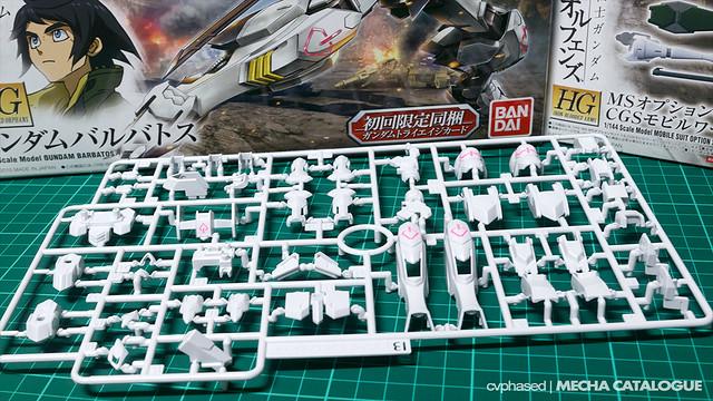 HG IBO Gundam Barbatos - Work in Progress #0.5