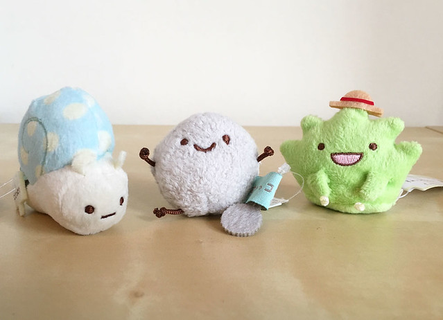 We might be a little obsessed with Sumikko Gurashi at SCK. Me and @jijipunch both got tiny plush for Christmas and they're so cute!