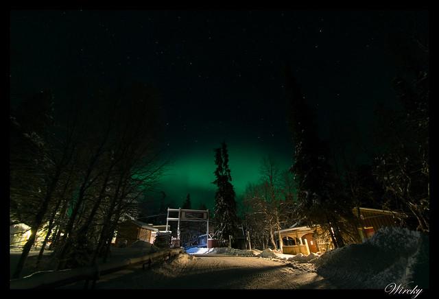 Laponia Tankavaara aurora boreal - Aurora boreal