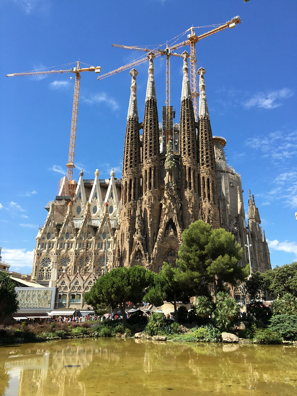 Ly, Cindy; Barcelona, Spain - NINE - Sagrada Família