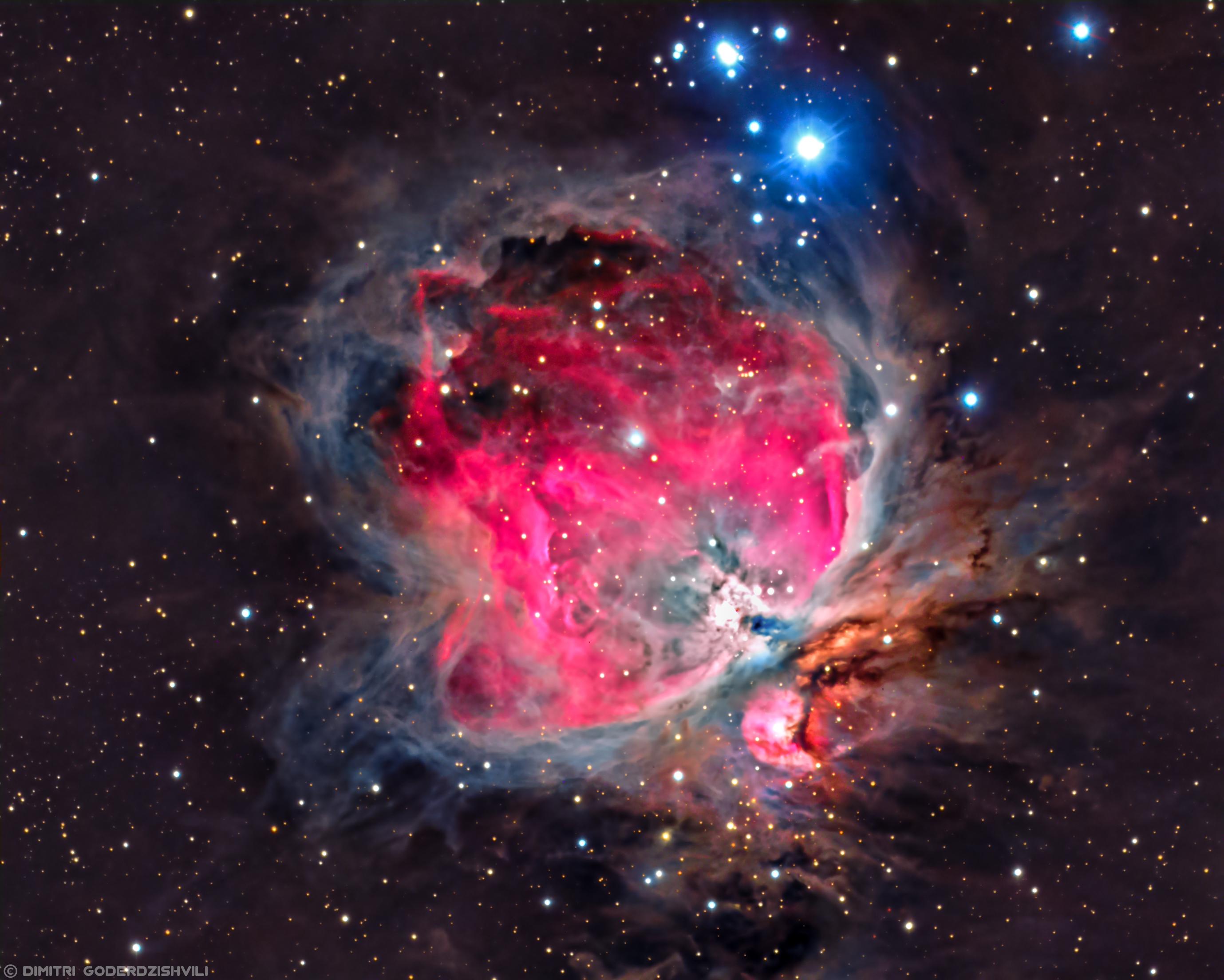 Orion Nebula M42 | by Dimitri Goderdzishvili. [2758x2208 ...