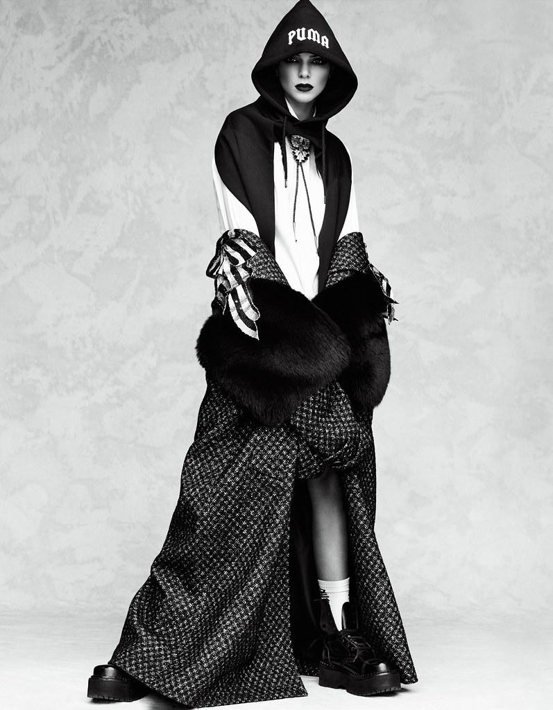 Кендалл Дженнер — Фотосессия для «Vogue» JP 2016 – 15