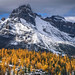 Autumn Scenery In Rocky Mountains, Lake O'Hara, Yoho National Park, Canada by Feng Wei Photography