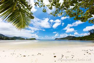 Hình ảnh của South Beach Các bãi biển với chiều dài 701 mét. nysvillage portglaud 塞席爾 sc seychelles beach 沙灘 canon canon5ds 5ds canon1124mmf4l ef1124mmf4lusm resort constanceepheliaresortofseychelles 塞舌爾 sea ocean sky