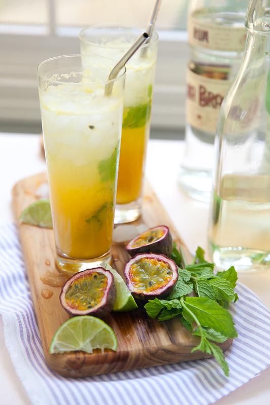 Passion Fruit Mojitos
