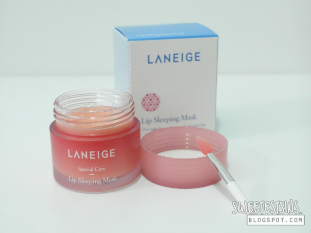 laneige lip sleeping mask review