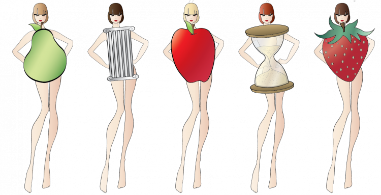 valencia fashion blogger bodyshape scheme drawing, pear apple body shape, how to wear cocktail dresses body sherry london