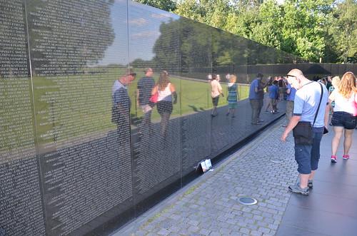 Washington DC Vietnam Veterans Memorial Jul 15 (3)
