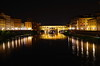 Ponte Vecchio at night by Andrew Scorgie