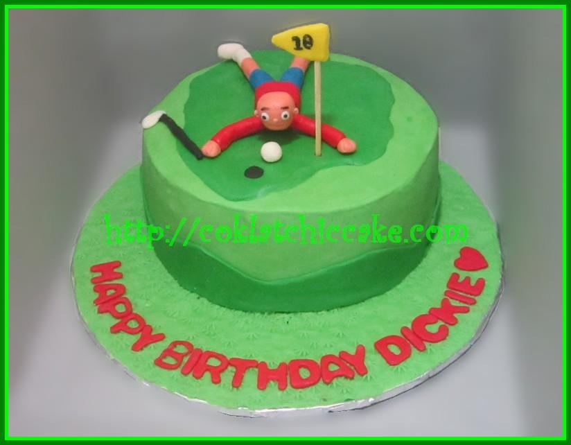 Cake Golf DICKIE Jual Kue Ulang Tahun