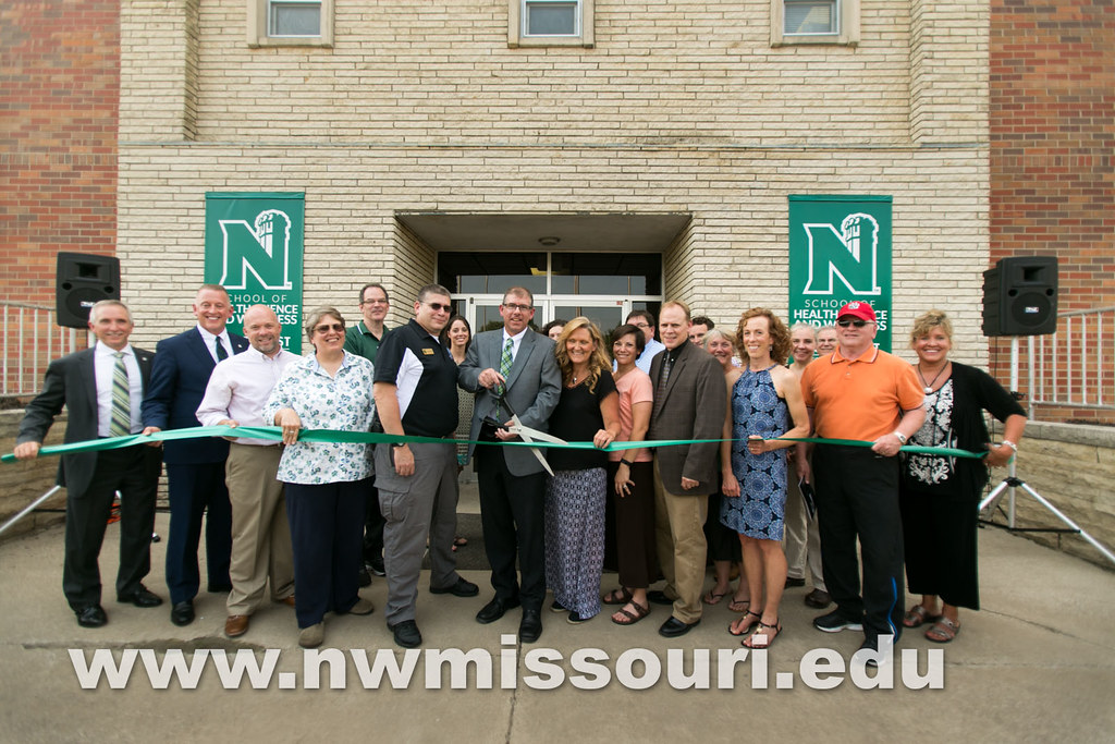 School of Health Science and Wellness ribbon cutting