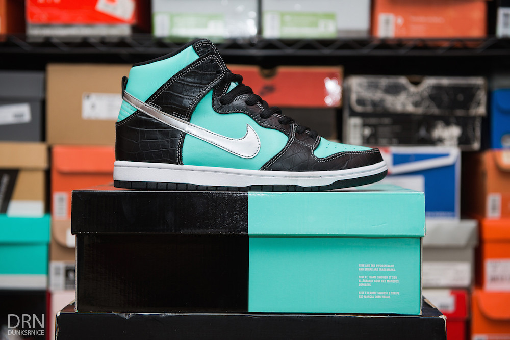 Tiffany Diamond Dunk High SB's.