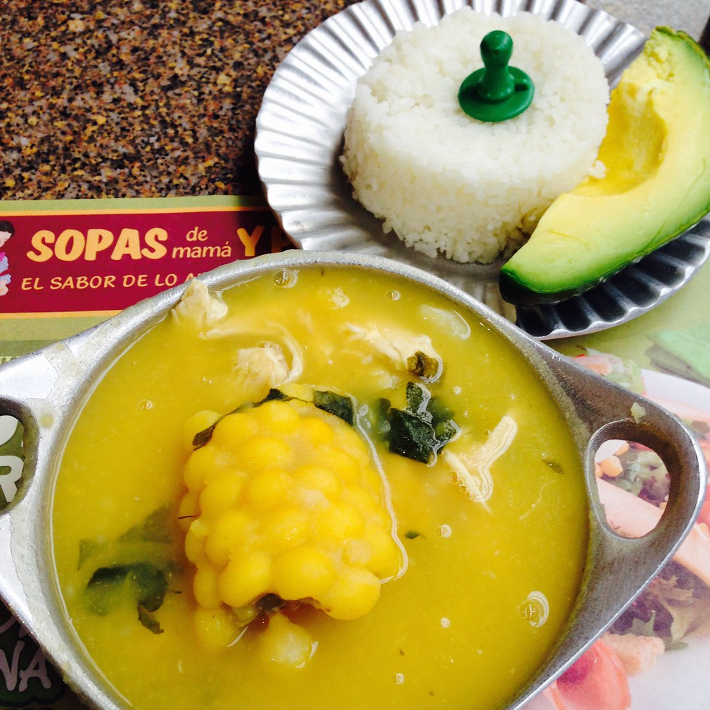 Ajiaco - A Colombian soup