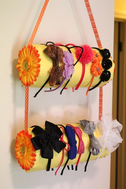 Headband holder tutorial, 1