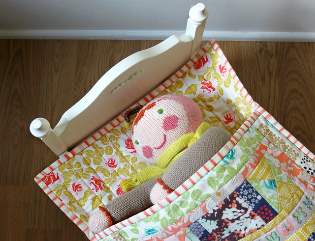 Cultivate Doll Quilt