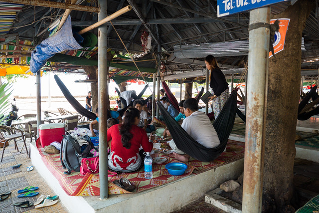 Restaurants where you buy food then relax in hammocks while you digest your food in Kep, Cambodia-2
