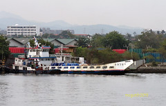 A korean LCT named Pulau Banda and a tug named M/T Kalasag