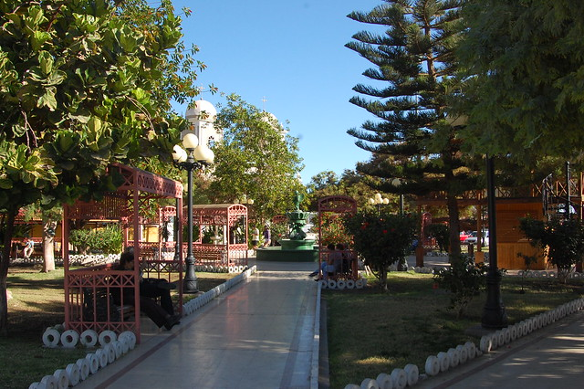 Plaza de Armas, Pica, Tarapacá, Chile