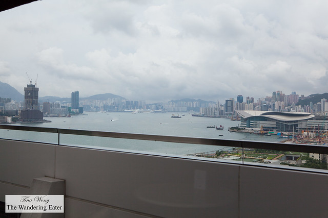 View of Victoria Harbour from