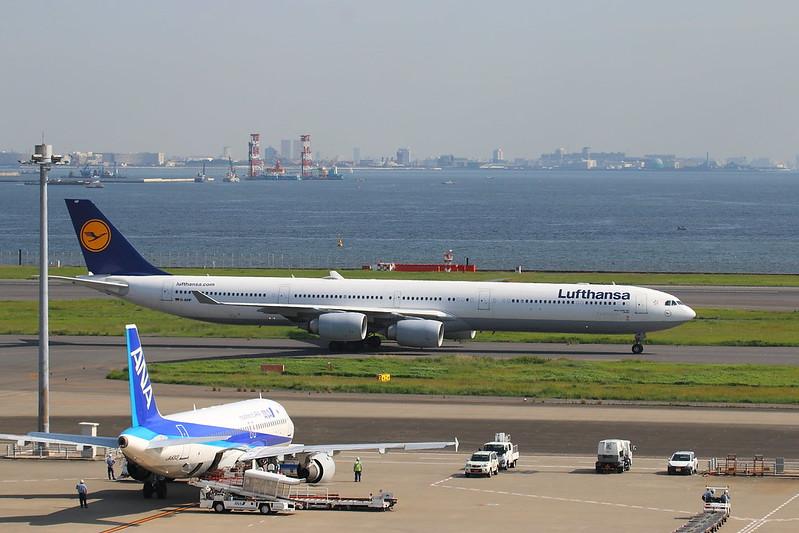 Lufthansa A340-600 D-AIHF