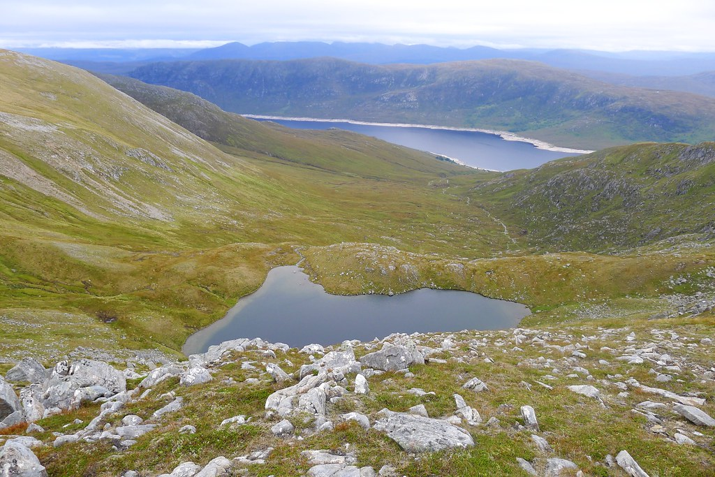 Gorm Lochan and Loch Cluanie