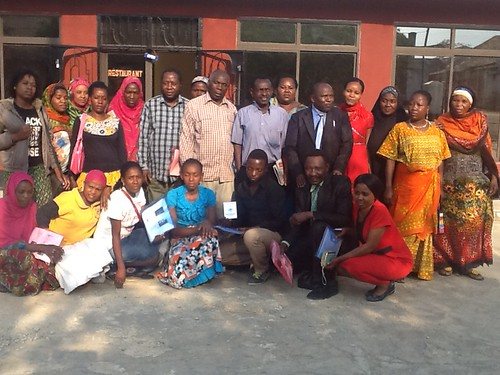 2015-9-17~18 Tanzania: Workshop on Training of Trainers for domestic workers in Iringa