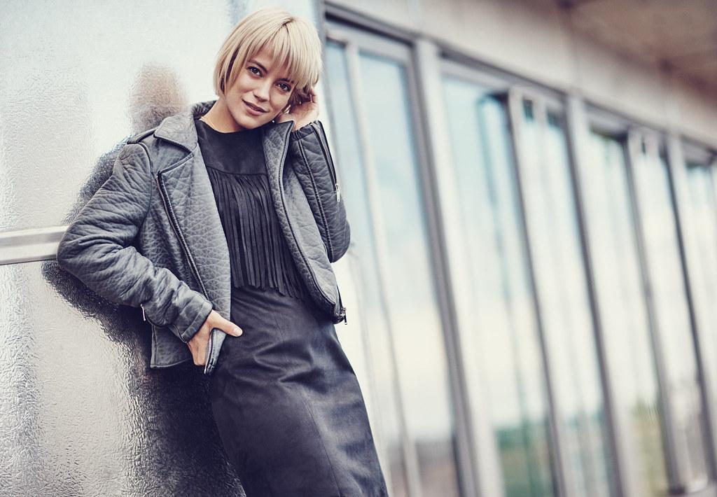 Лили Аллен — Фотосессия для «Vero Moda» Осень 2015 – 2
