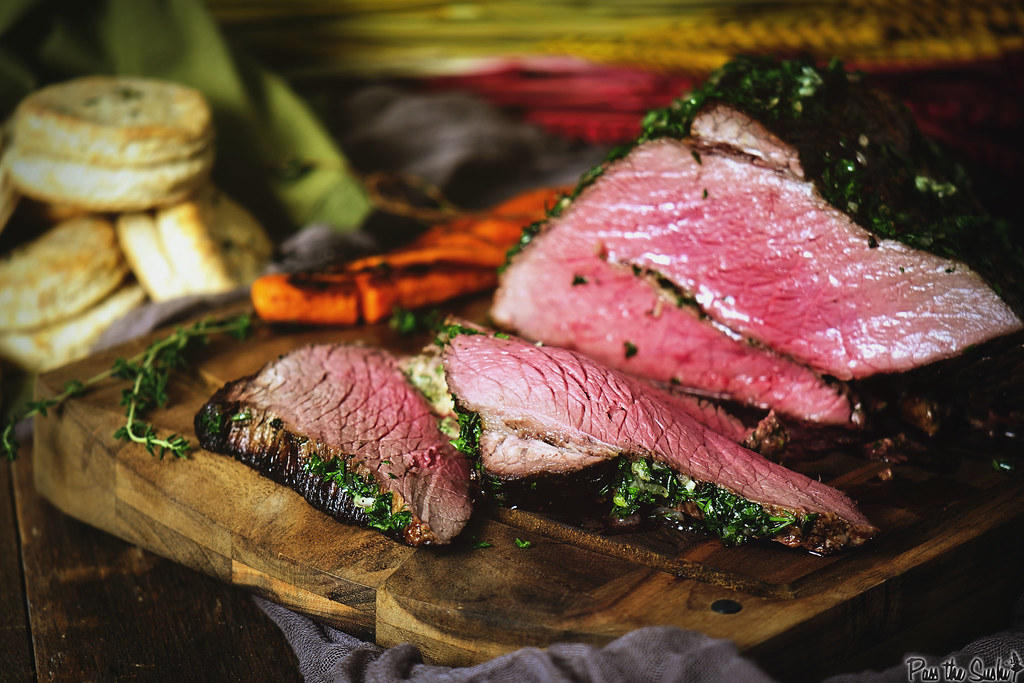 Herb Rubbed Top Round Roast Beef \\ GirlCarnivore.com