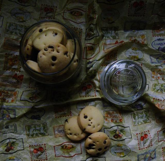 biscotti da colazione tipo gocciole (4)