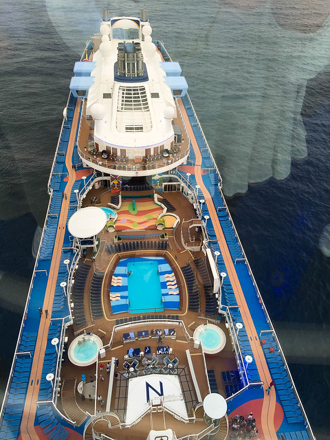 View from North Star on Royal Caribbean Anthem of the Seas