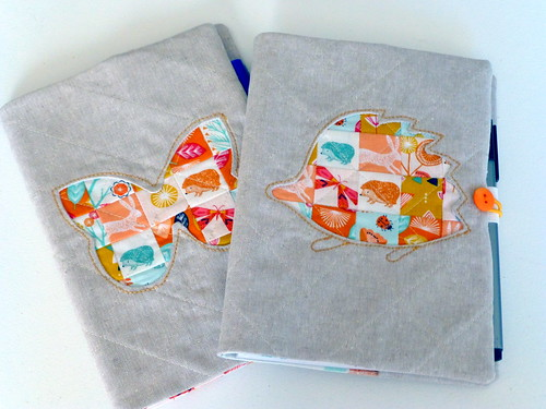 Porthole Journal Covers/Quilt Now Nov15 | by Just Jude Designs