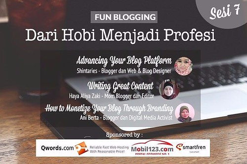 Fun Blogging sesi 7
