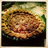 Orange bourbon pecan pie