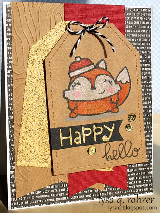 Happy (foxy) hello