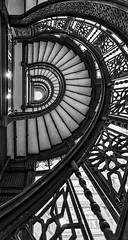 Rookery Stairs Spiral BW