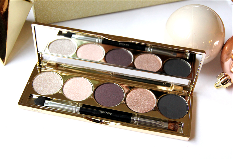 IsaDora golden edition palette2